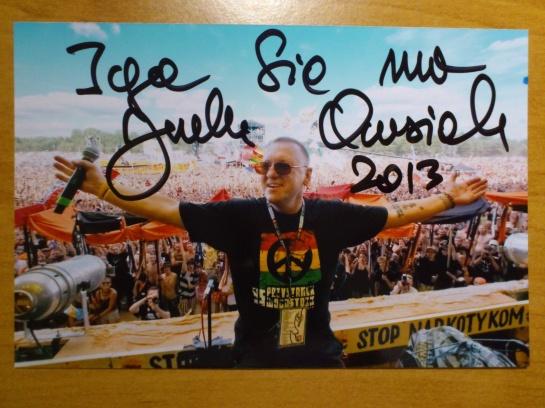 #11 Autograf od Jurka Owsiaka