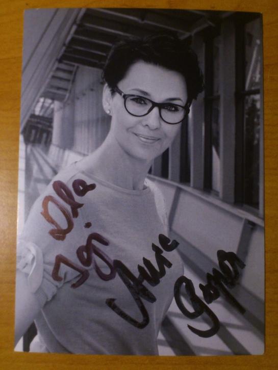#12 Autograf od Anny Popek