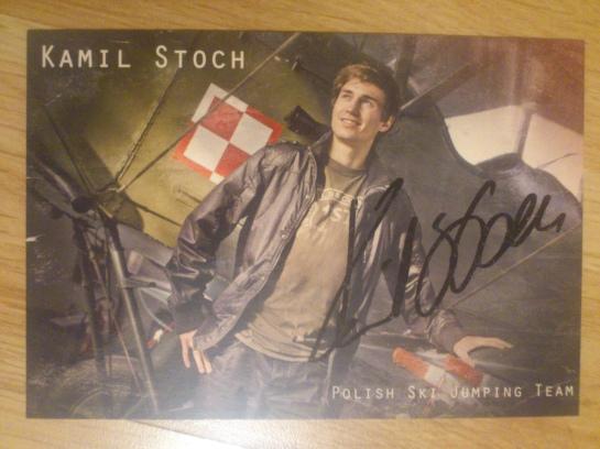 #23 Autograf Kamila Stocha