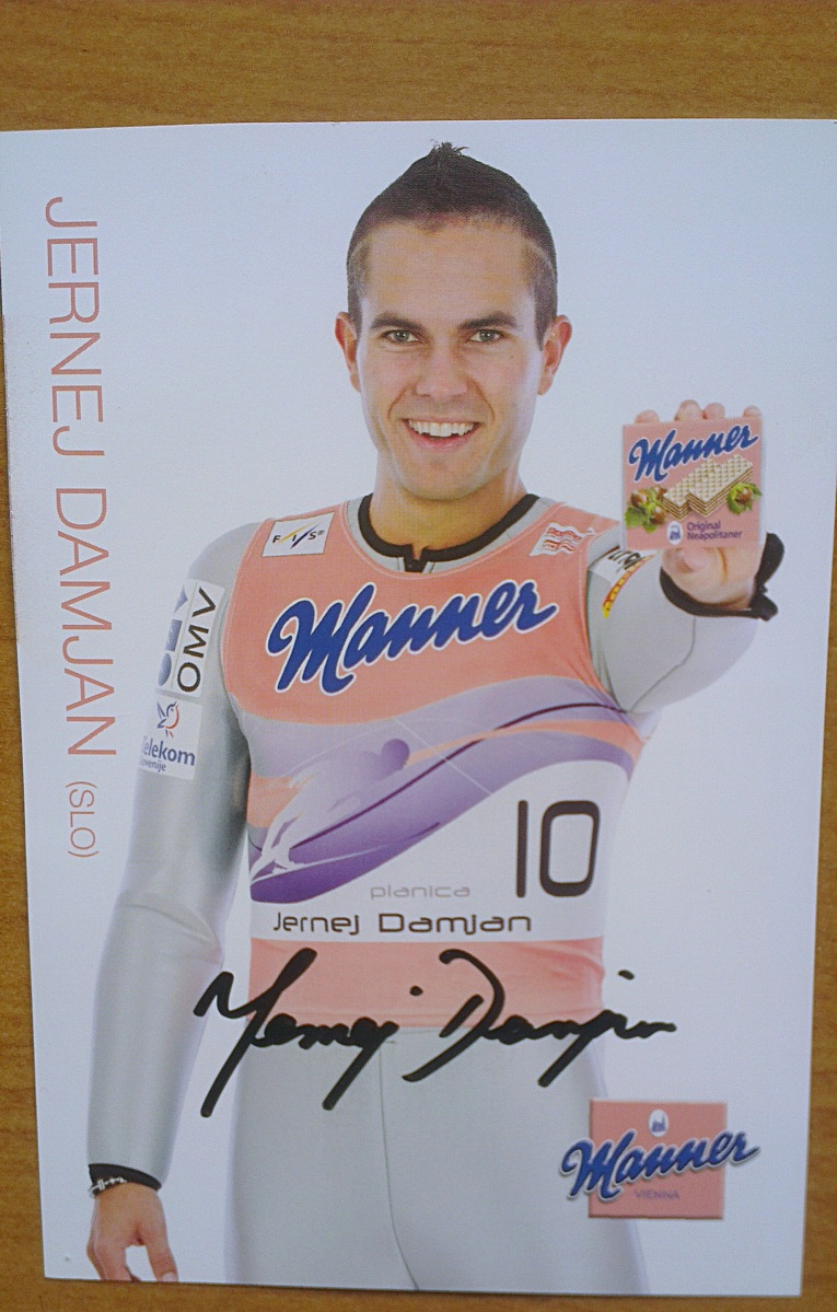 #52 Autograf Jerneja Damjana
