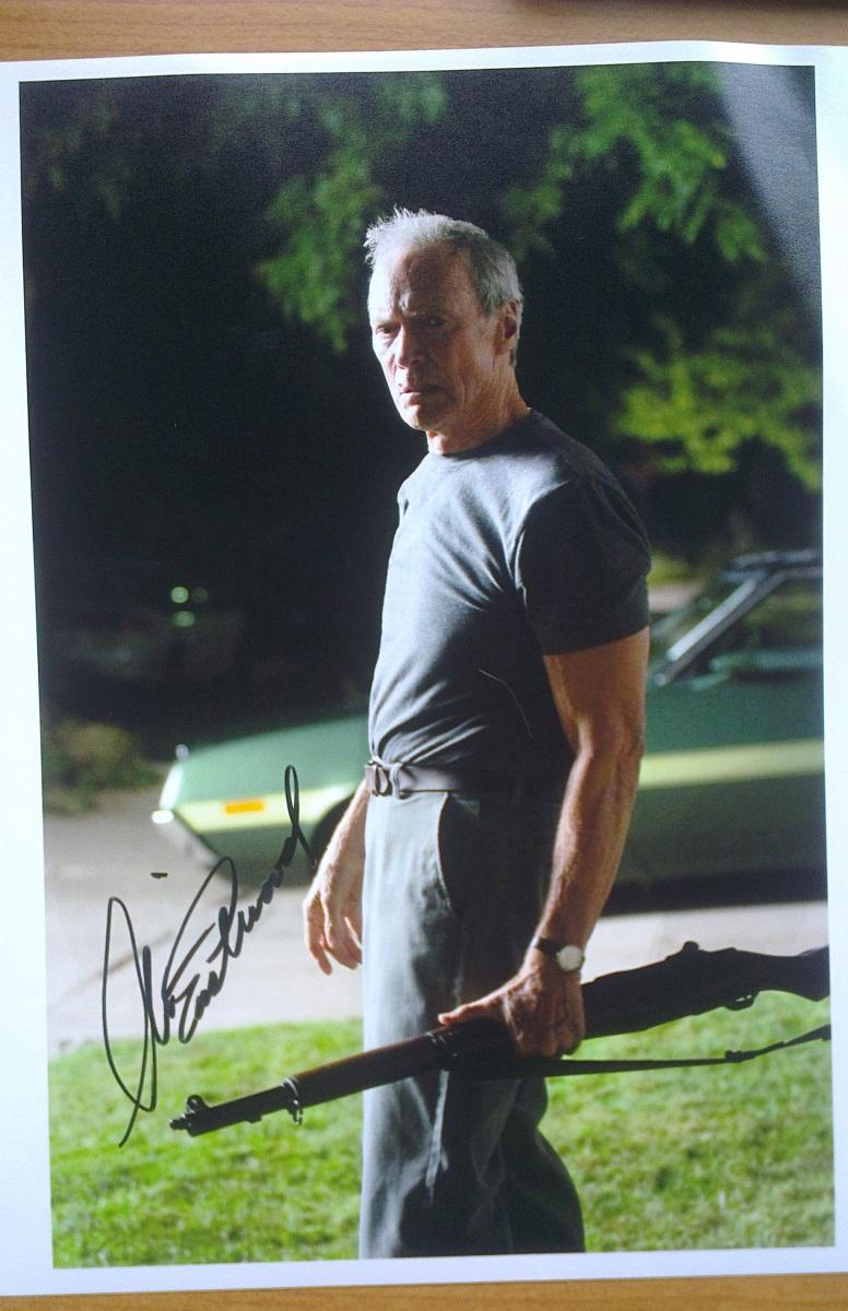 #53 Autograf Clinta Eastwood'a