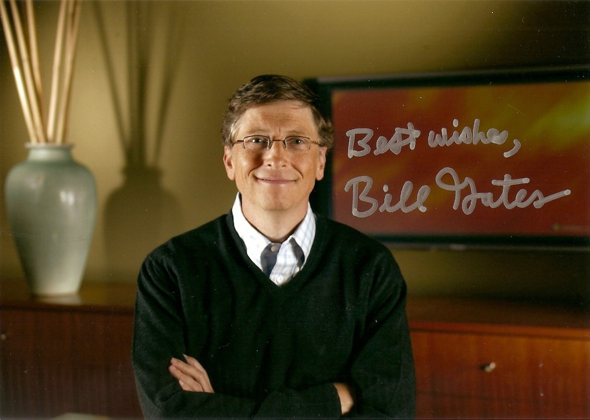 #106 Autograf - Bill Gates