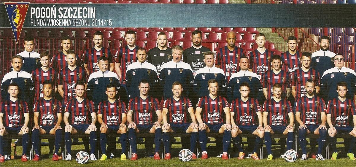 #165 Autografy piłkarzy Pogoni Szczecin